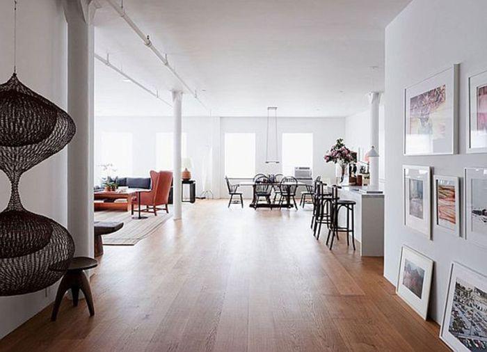 la deco loft new yorkais en 65 images interiors and house. Black Bedroom Furniture Sets. Home Design Ideas