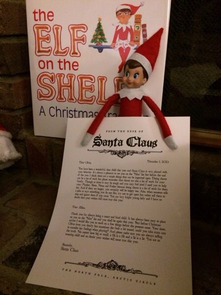 Sparkle has returned from the north pole she brought back a letter sparkle has returned from the north pole she brought back a letter from santa claus spiritdancerdesigns Images