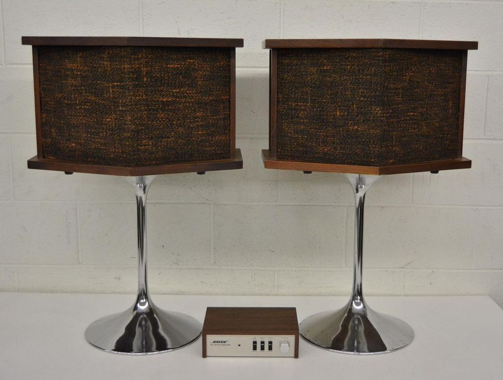 1970s Bose 901 Series-1 19-Driver Direct Reflecting Speakers +Stands & Equalizer    eBay