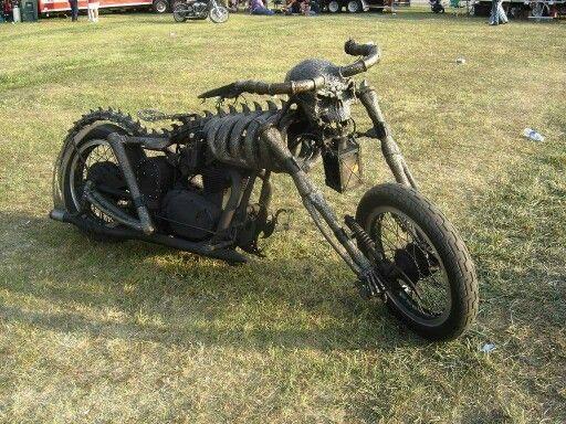 Skeleton Bike Frame With Images Motorcycle Design Rat Bike Bike