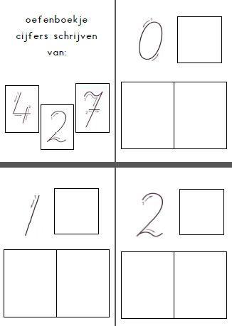Voorbereidend schrijven cijferboekje | Matematik | Pinterest ...