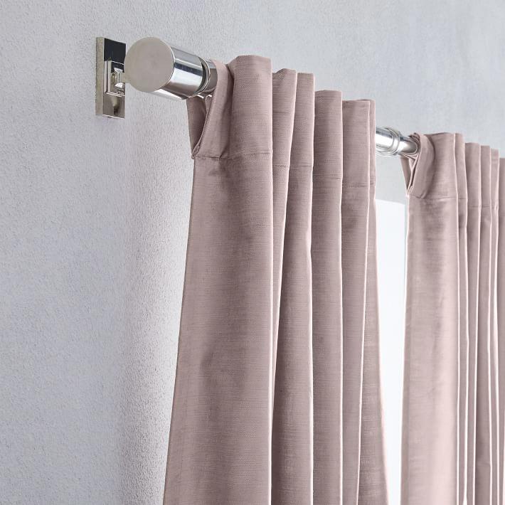 Cotton Luster Velvet Curtain