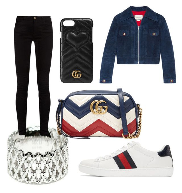 airport (look 3 ACG) by anabiamagalhaes on Polyvore featuring polyvore fashion style Gucci clothing