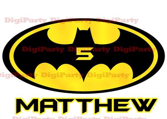 Hey, I found this really awesome Etsy listing at https://www.etsy.com/listing/183282339/batman-birthday-party-iron-on-design