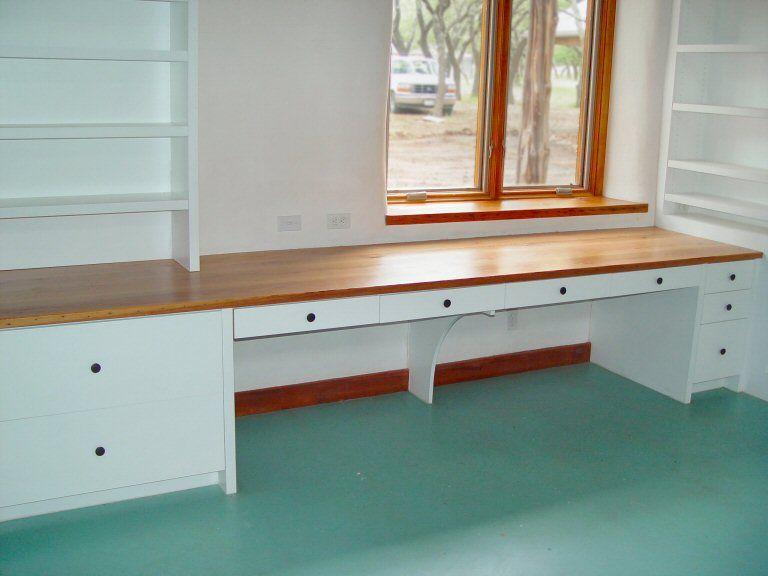 butcher block desk