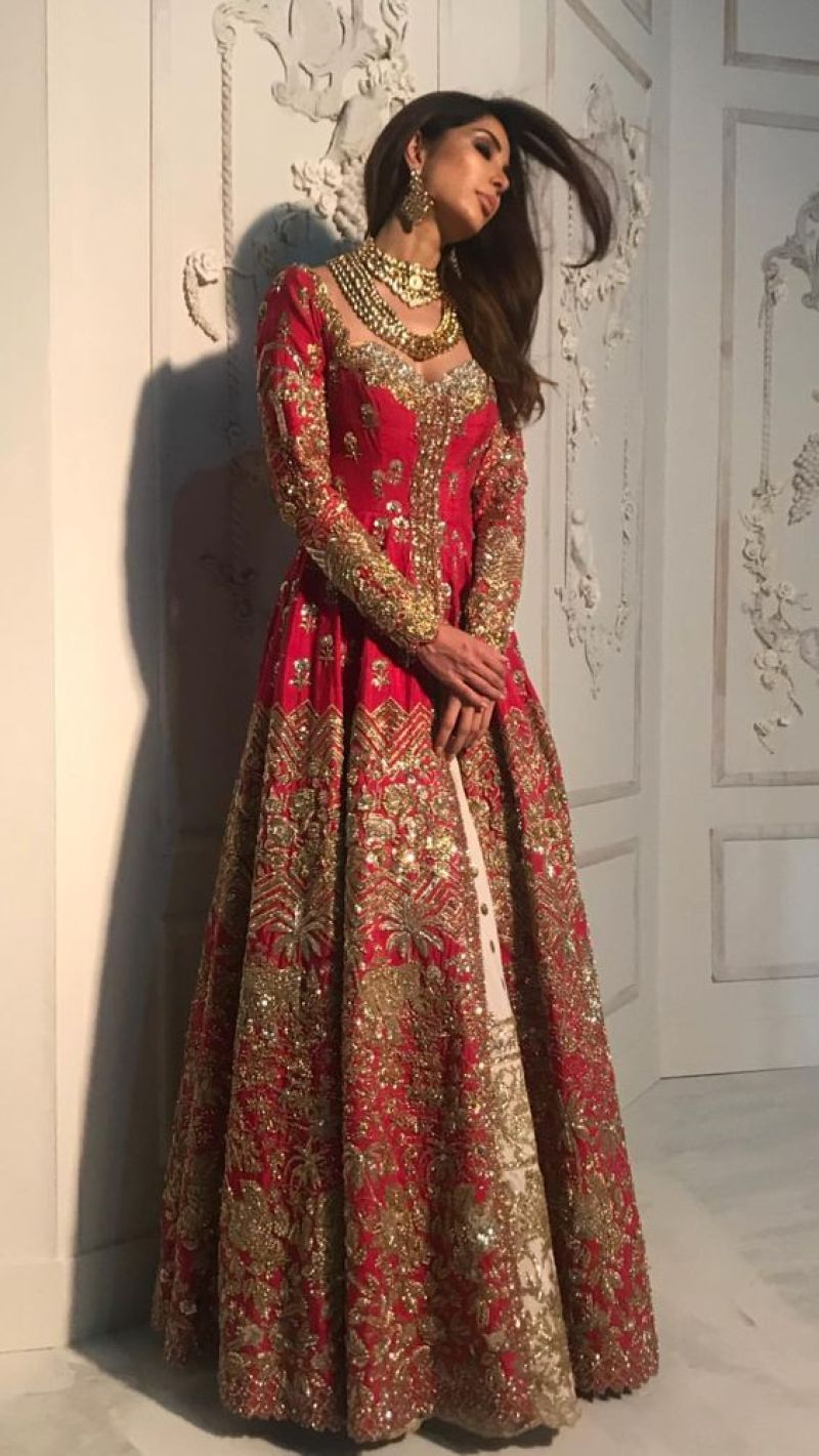 Latest asian bridal mehndi suits for yr 19 collection with