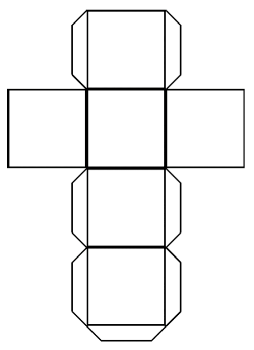 Cube Template  Firstly Download A Cube Template Similar To The