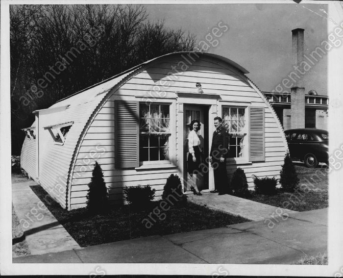 1946 Quanset Hut Converted To Family Home Grand Rapids