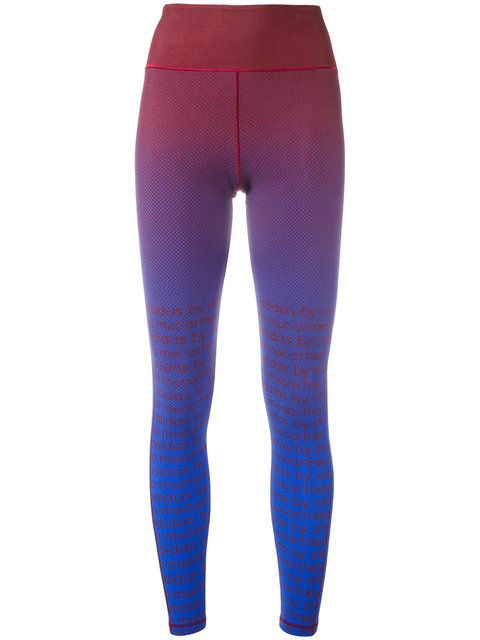 bbf97ae0891d46 Shop Adidas By Stella Mccartney dotted logo leggings. | Fitness in ...