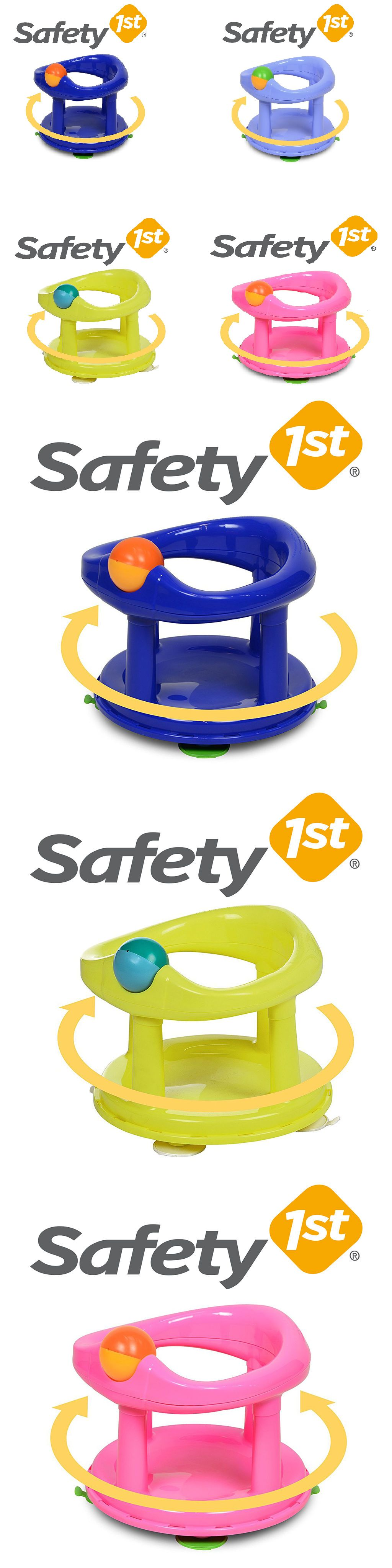 Safety First Swivel Baby Bath Tub Rotating Safety 1st Ring Seat ...