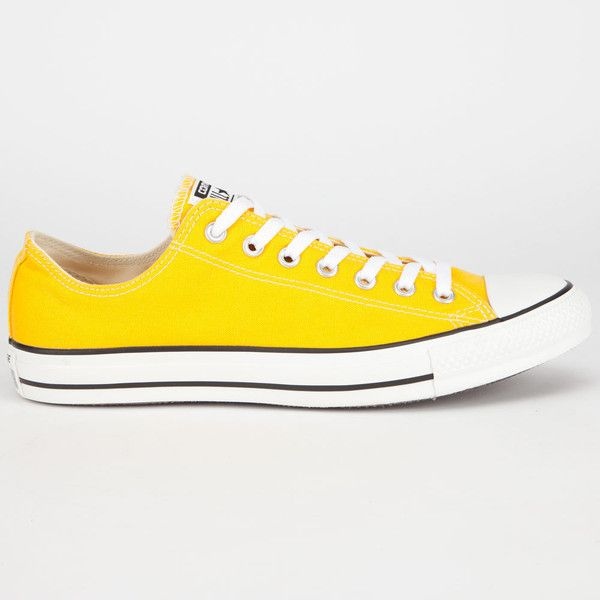 CONVERSE Chuck Taylor All Star Low Mens Shoes ($45) ❤ liked on Polyvore  featuring men's fashion, men's shoes, shoes, converse, sneakers, wild honey,  ...