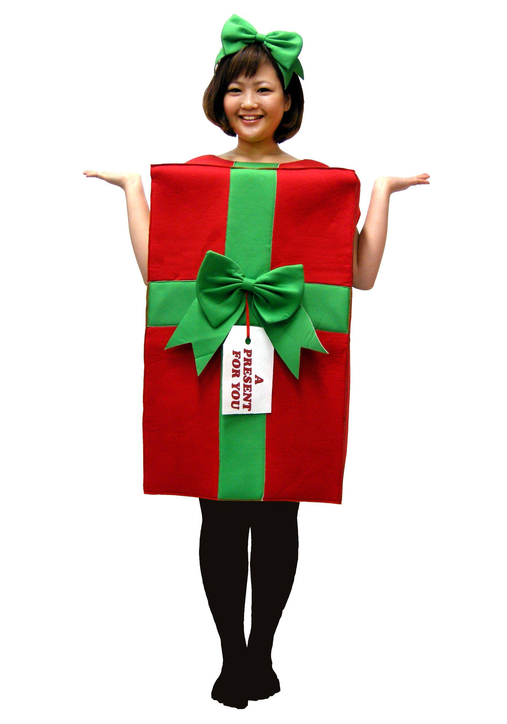 Present Costume Christmas present costume, Christmas