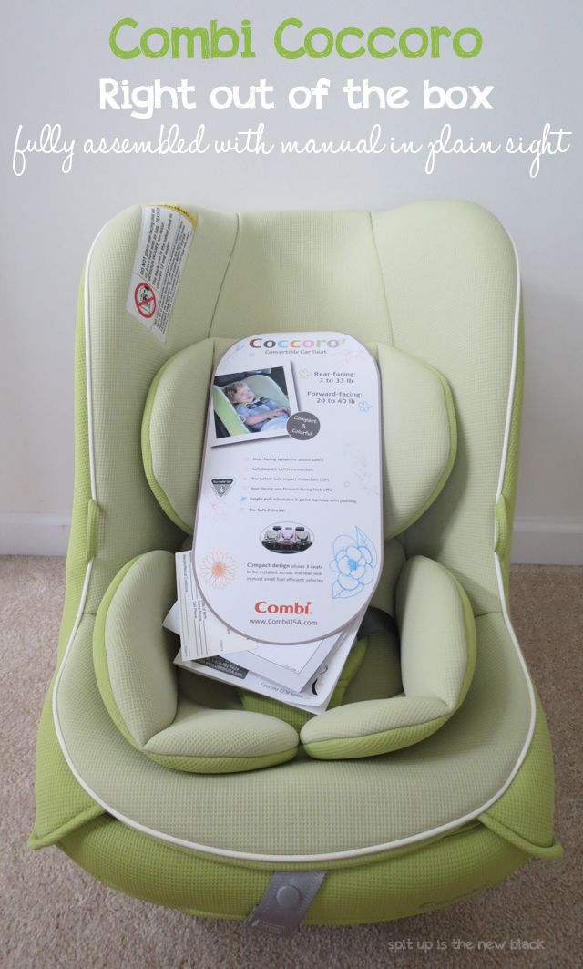 Combi Coccoro Convertible Car Seat Review