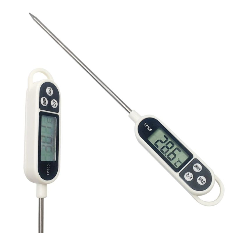 Digital LCD Wireless Remote Oven Food Cooking Meat BBQ Grill Thermometer LU