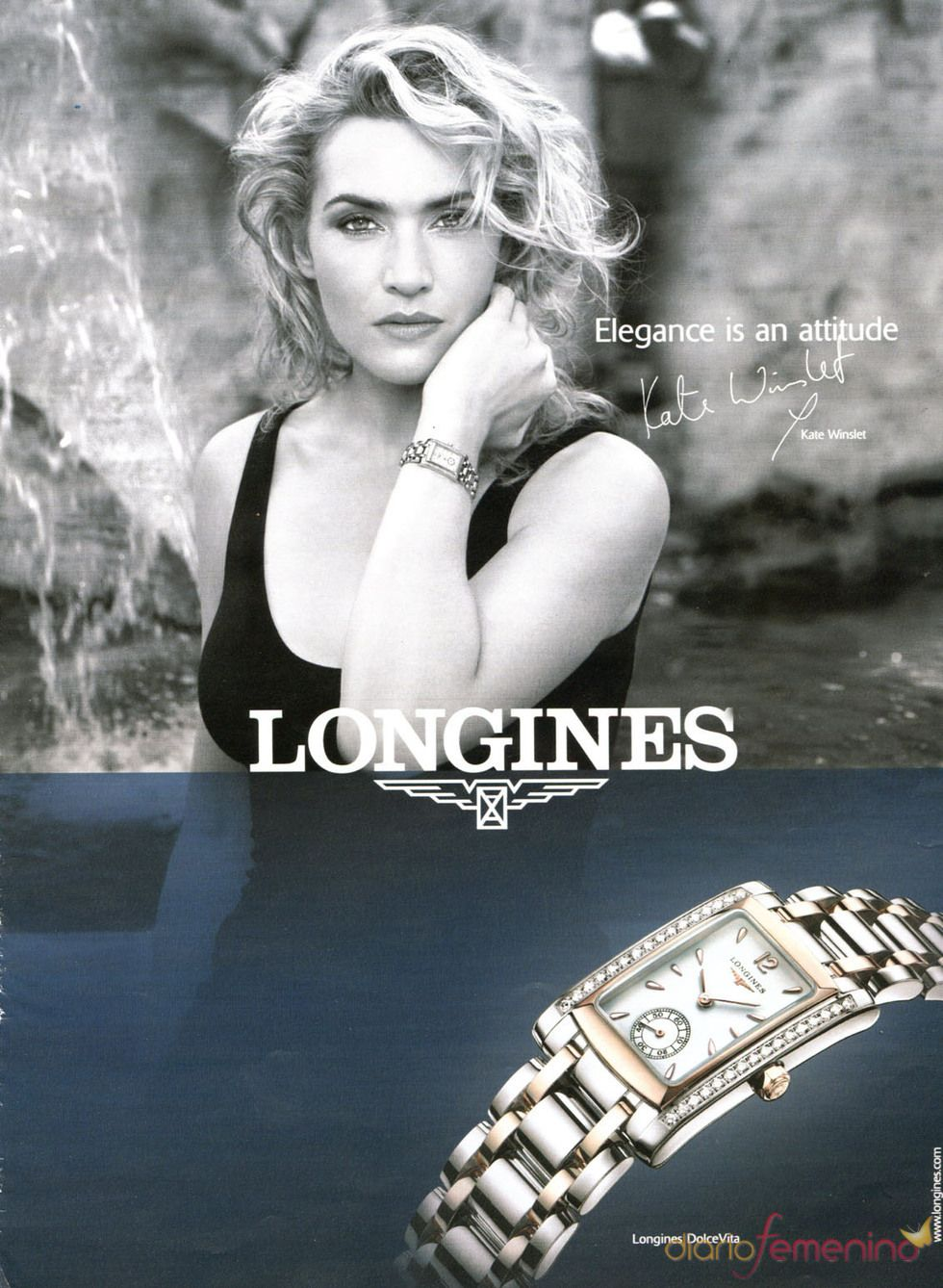 Kate Winslet For Longines Kate Winslet Longines Photography Women