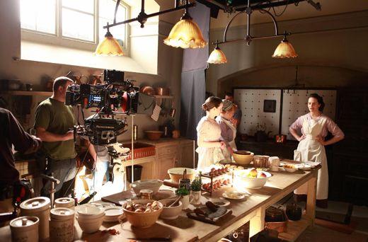 "Downton Abbey ""Residence  Downton Abbey Films And Tvs Stunning Downton Abbey Kitchen Design Design Ideas"