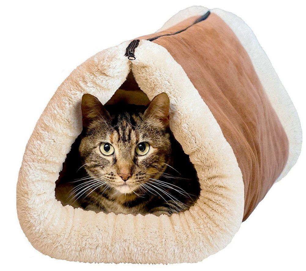 Zeroyoyo cute pet accessories kitten shack tube cat bed small dog