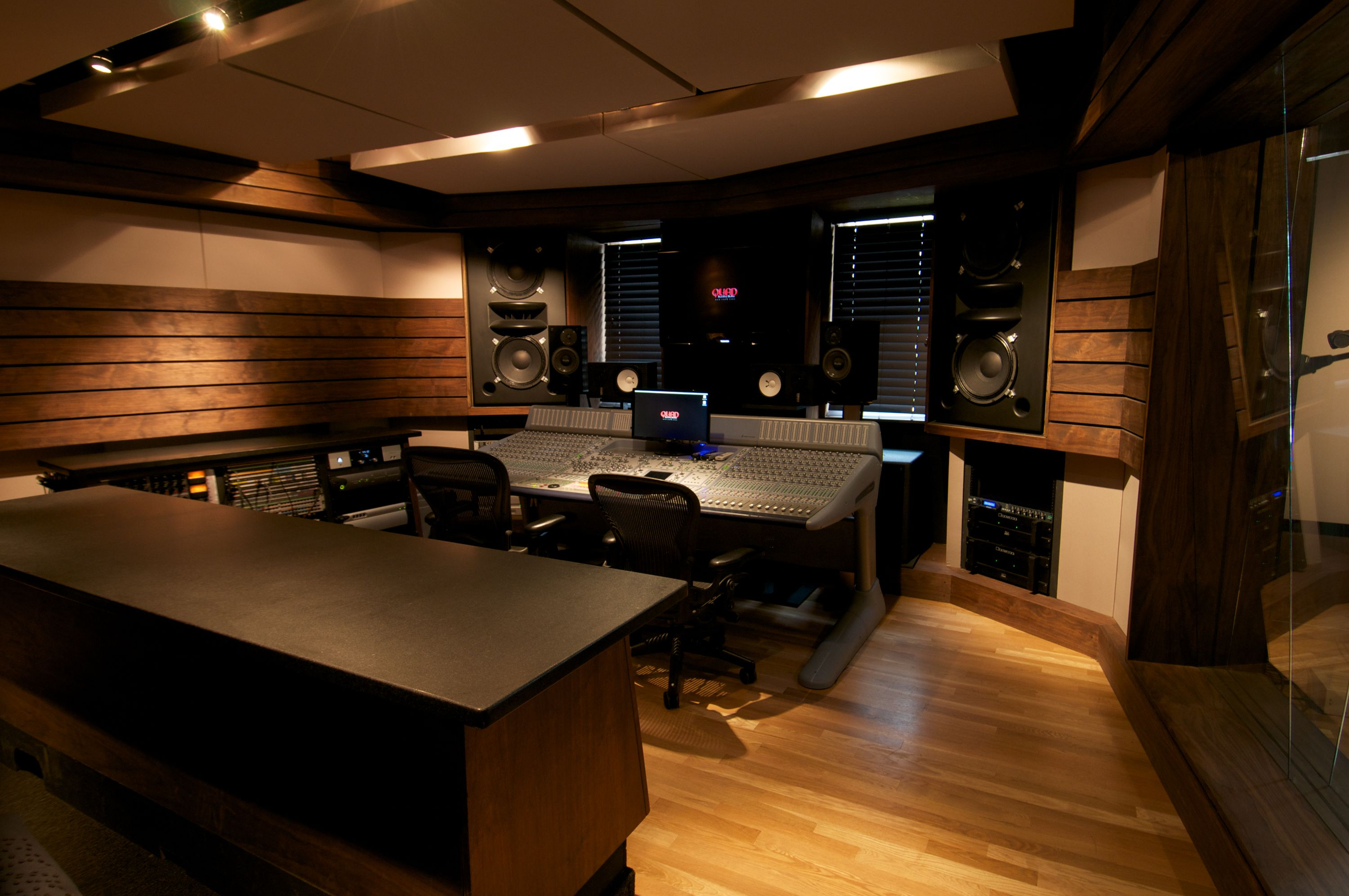 Designing a sound recording studio google search for Recording studio layout