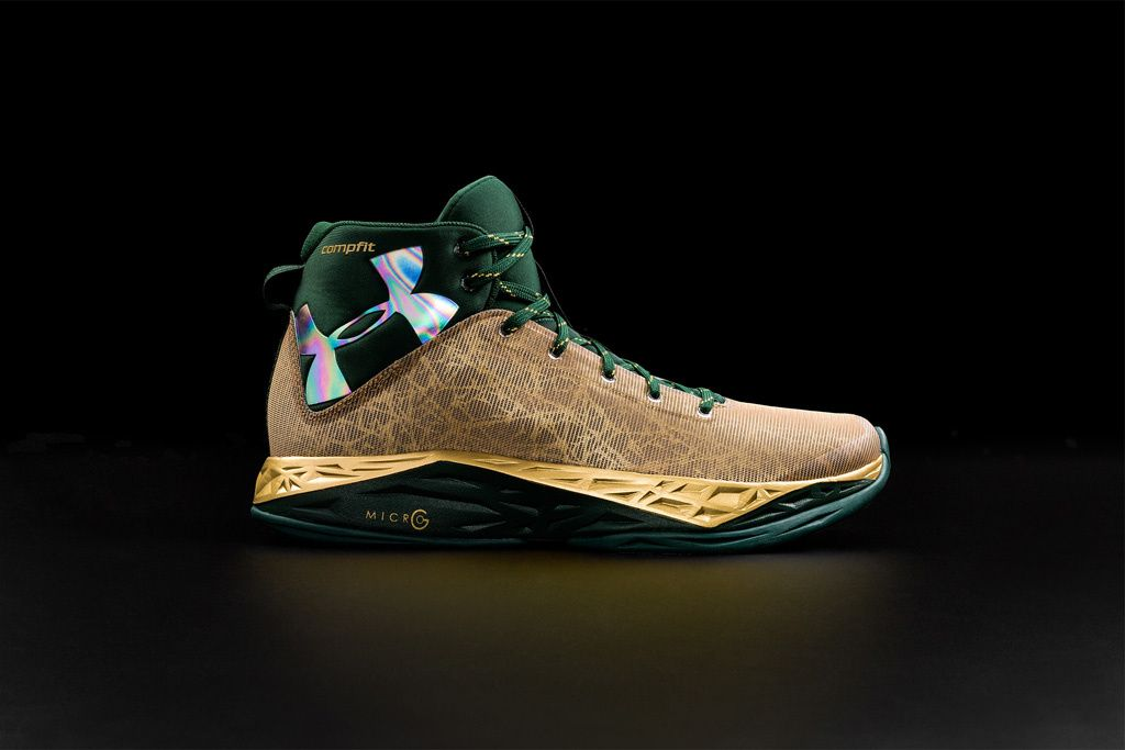 Under Armour Drops Four New Colors Of Its Fire Shot Basketball Shoe.  Metallic GoldBasketball ShoesUnder ...
