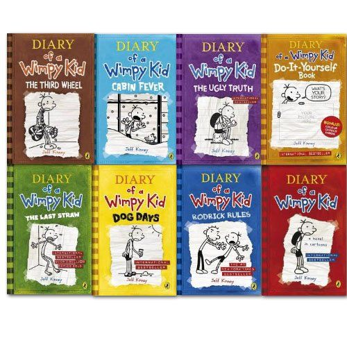 Diary of a wimpy kid collection 8 books set diary of a wimpy kid diary of a wimpy kid collection 8 books set diary of a wimpy kid the solutioingenieria Image collections