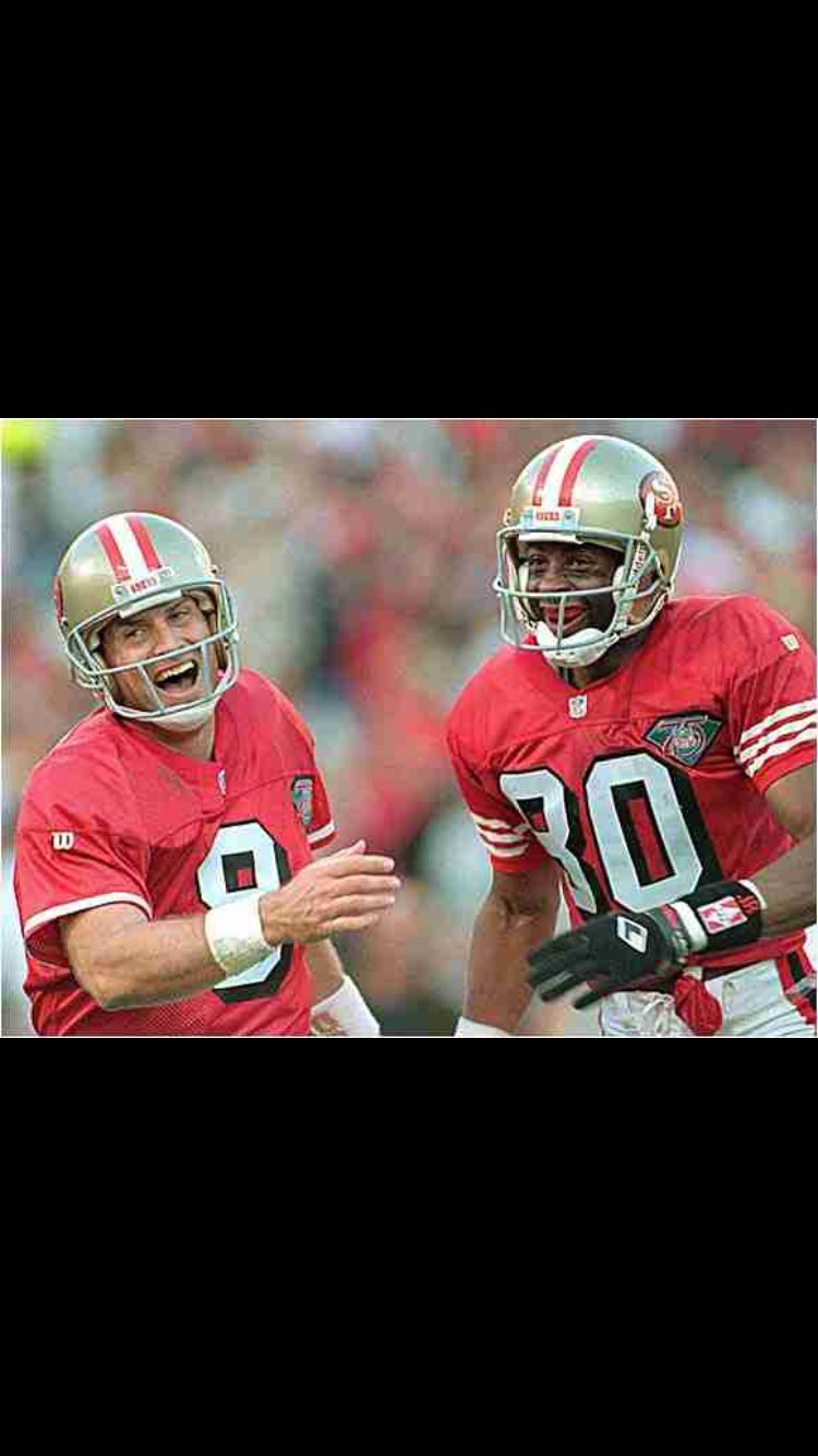Best duo for years nfl football 49ers football 49ers