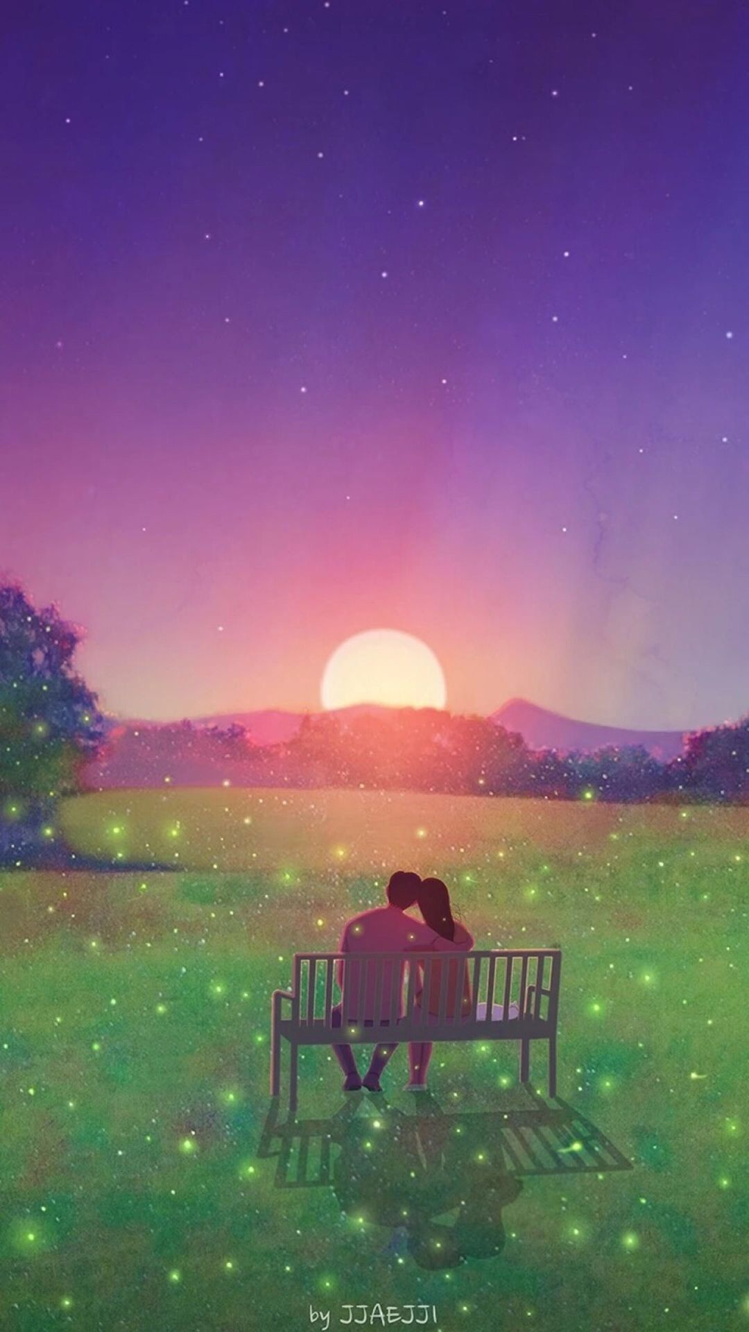 Pin by Sarah on iPhone wallpaper Cute couple art, Love