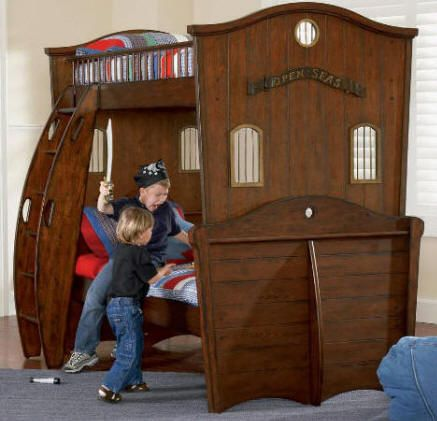 Another Pirate Bunk Bed