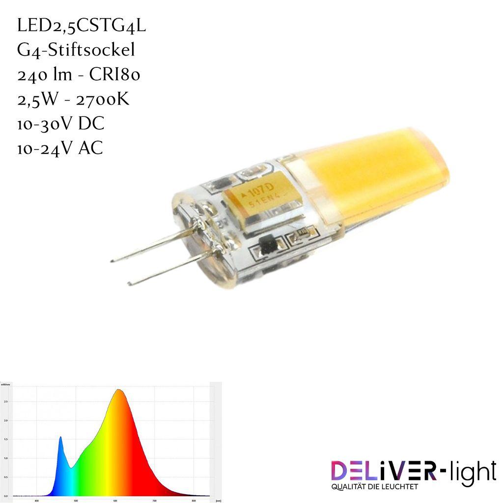 Led2 5cstg4l Led Lampe 240lm G4 Silikonbeschichtung In 2020 Led Lampe Led Sockel