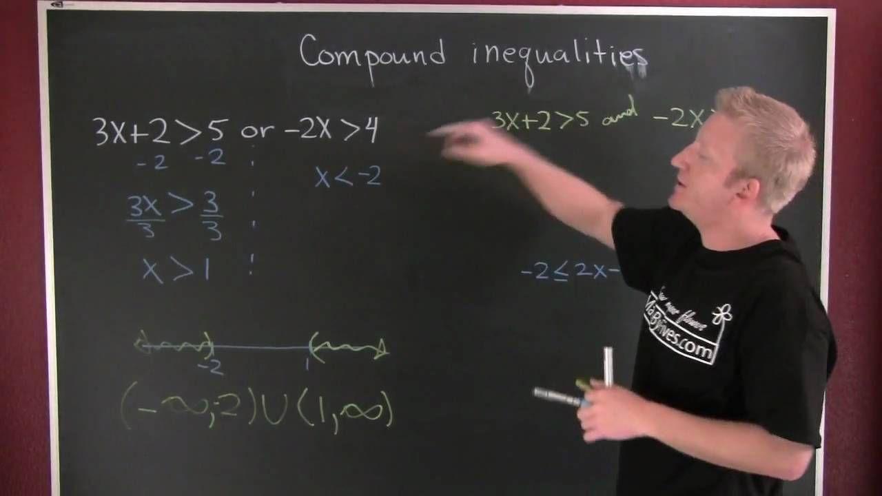 Compound inequalities 2mov compound inequalities