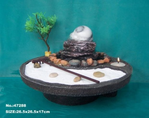 Bon Zen Garden Water Fountain