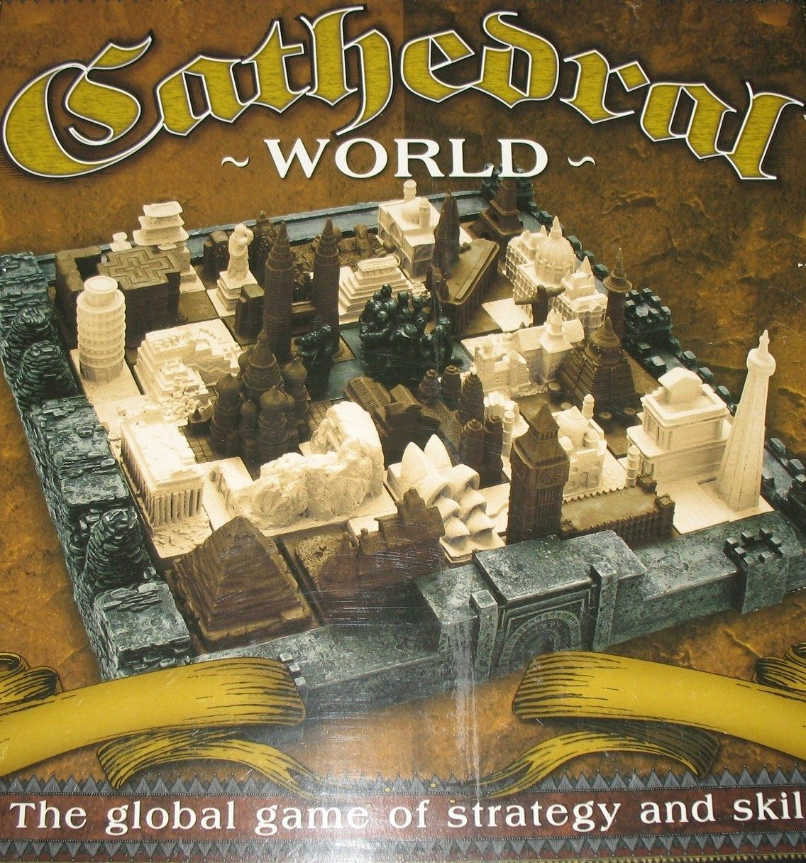 Cathedral World is a strategy game in which play happens