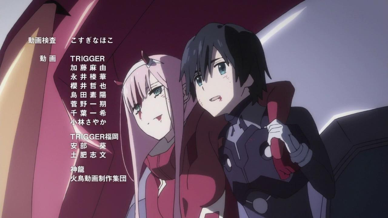 1 Hiro & Zero Two Darling in the Franxx ダリフラ, ダリ, アニメ