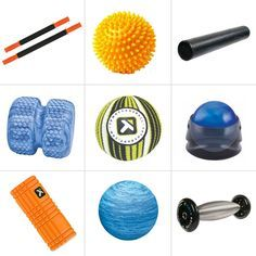 """""""12 Ways to Roll Away the Pain."""" All of these tools (of different price ranges) accomplish self-myofascial release, which will have you feeling great and relaxed, quickly!"""