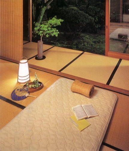 Japanese Room Tatami And Futon. Love It!