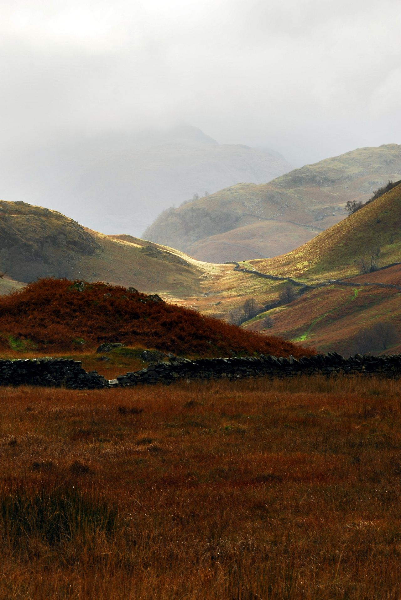 Castle Crag English Lake District Scenery Landscape Beautiful Landscapes