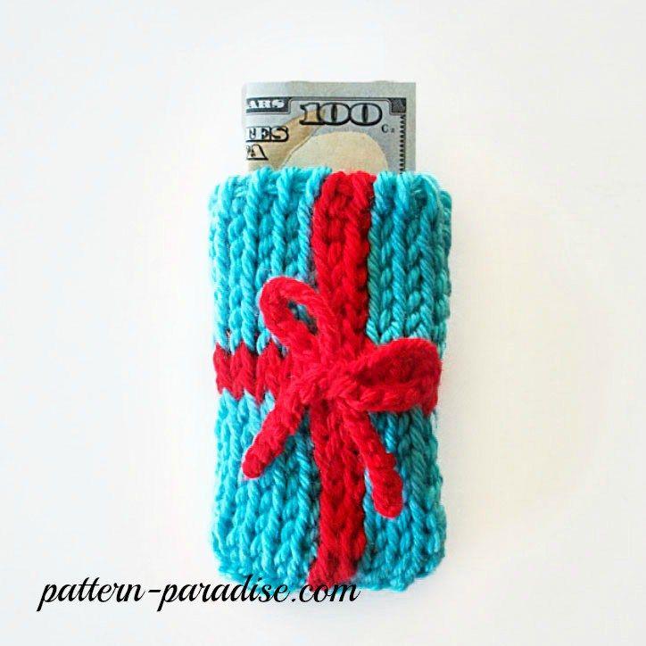 Free Crochet Pattern: Money & Gift Card Holders
