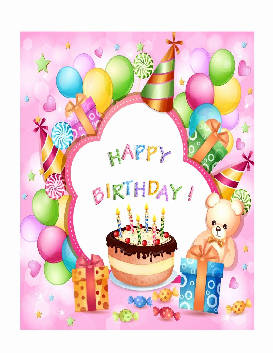 Birthday Card Template Free Download Awesome 40 Free Birthday Card Templates Template Lab In 2020 Free Birthday Card Birthday Card Template Free Birthday Gift Cards