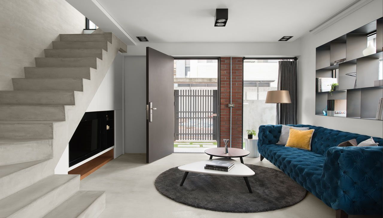 A Modern House In Taichung That Combines Work And Home Life Cozy