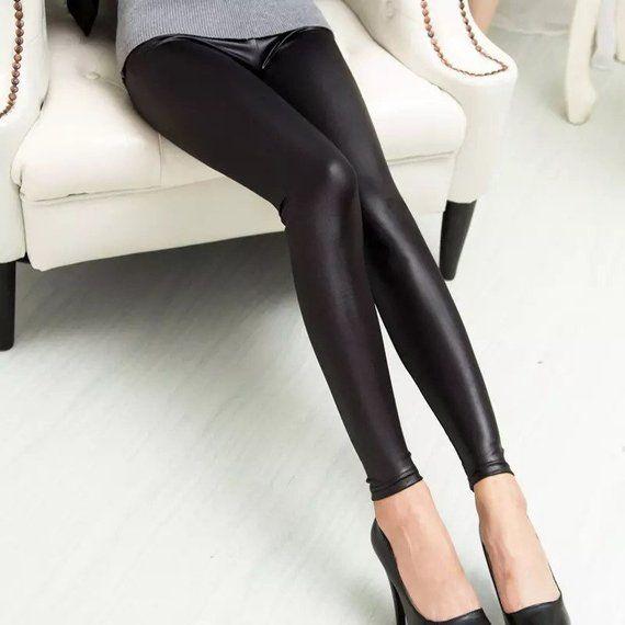 d2af01e702d832 Black Leather Leggings for Women | Leggings for Women | Leather ...