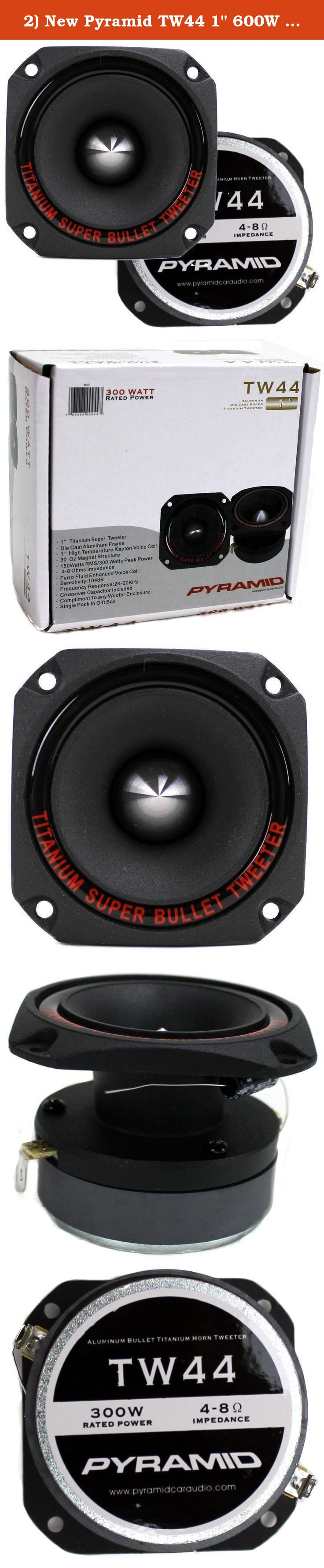 Pyle-Pro PDBT45 400 Watt 1.75-inch Titanium Bullet Super Tweeter