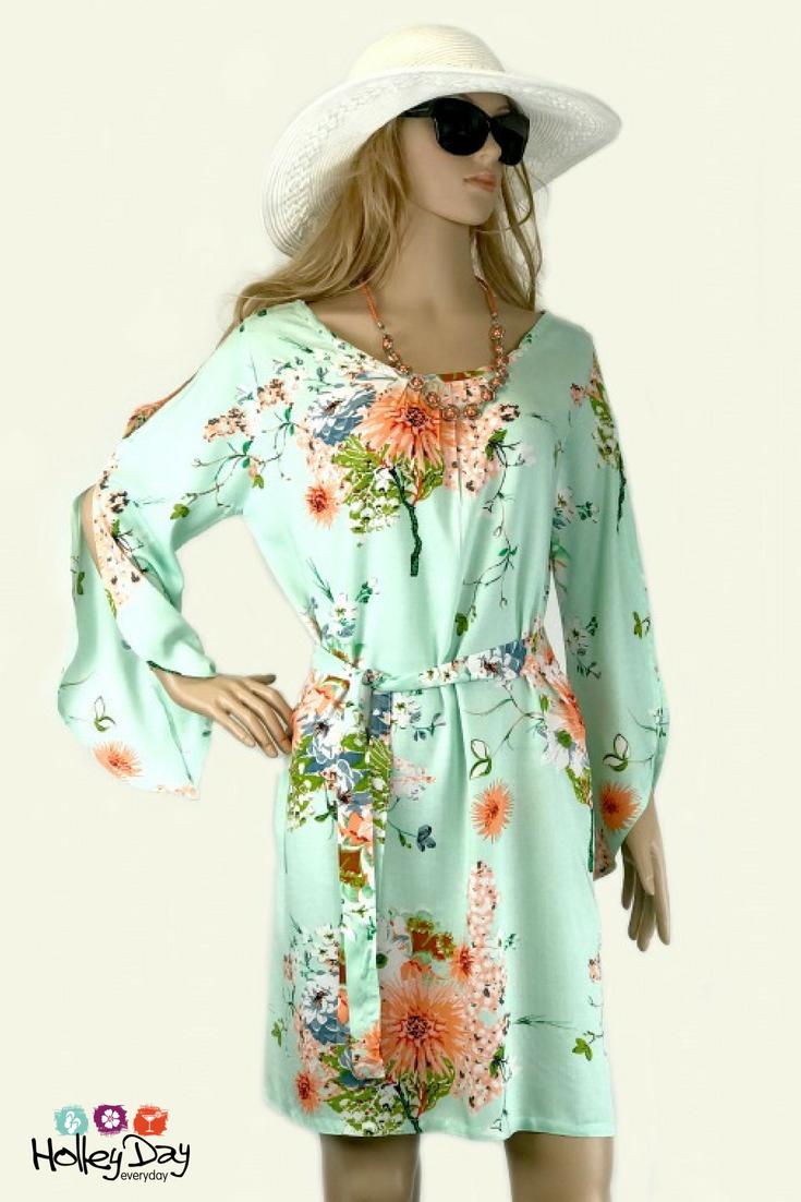 Fresh Florals Summer Dress Kaftan Dress Summer Dresses Dresses [ 1102 x 735 Pixel ]