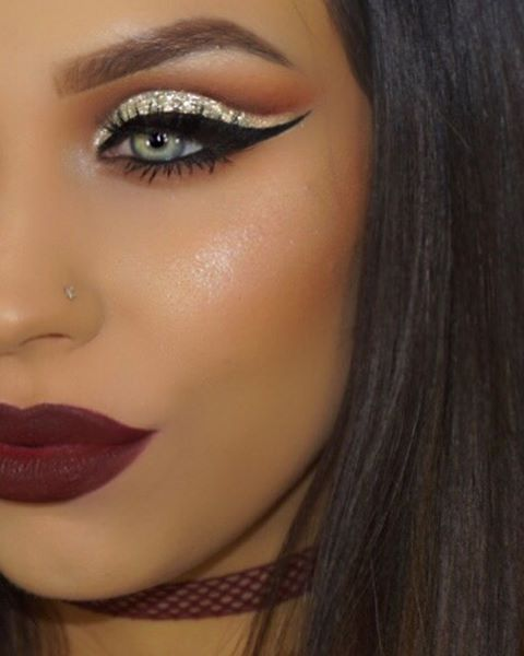 Cut Crease Makeup: Instagram Photo By Makeupby_elliee