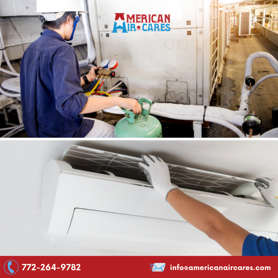 Keeping up with HVAC maintenance is important, as it keeps