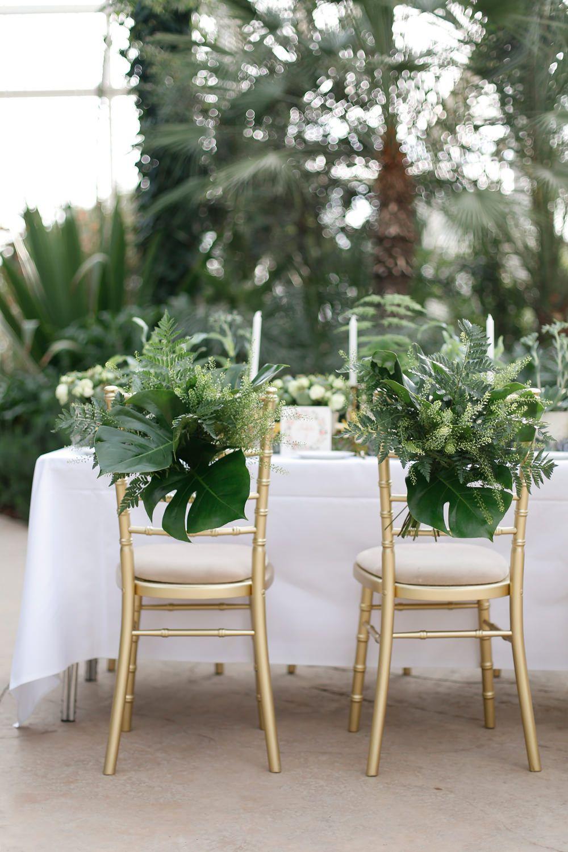 White wedding decor ideas  Greenery Wedding Decor Wisley Venue Hire Botanical Wedding Decor
