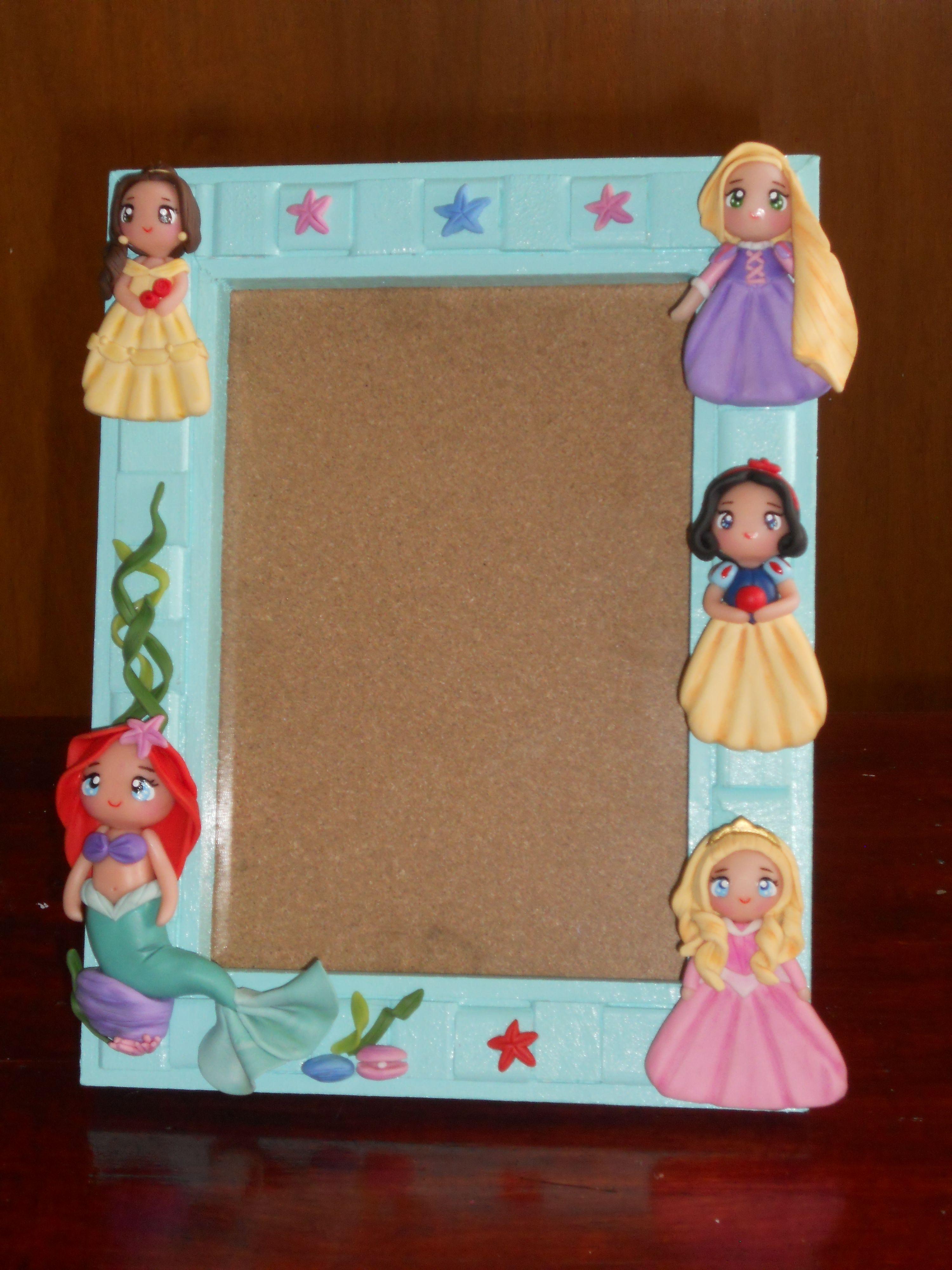 Porta-retratos Disney Princesas