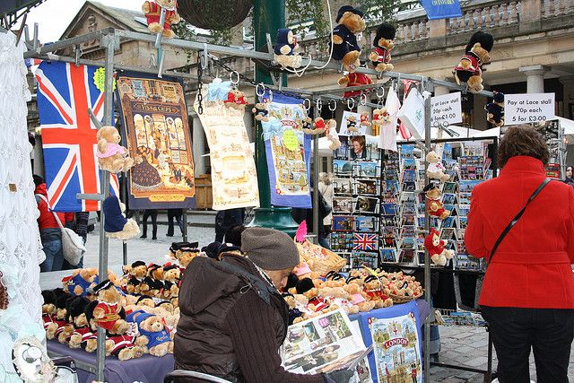 Market stall in London