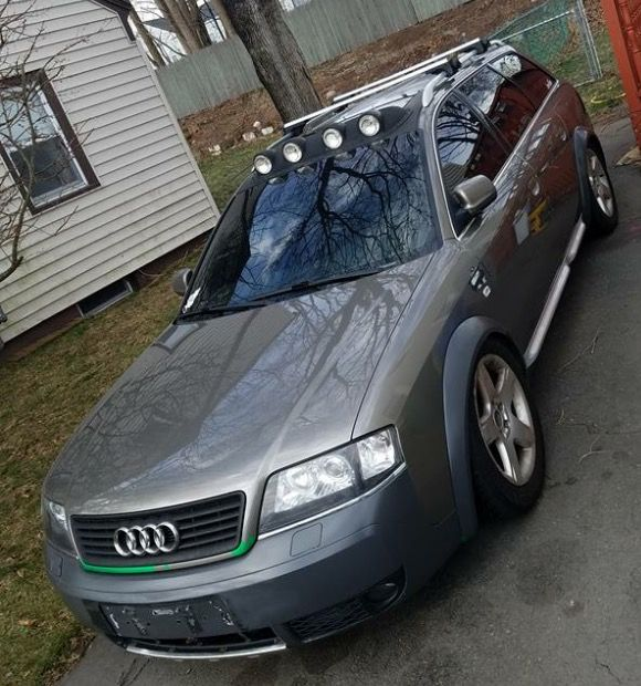 Audi Allroad Avant Wagon C5 The Body Style Was Made 2001 2002 2003 2004 2005 Using The S4 6 8 Cylinder 2 7 Twin Turbo A6 4 2 Liter V8 Motor Www Thedi