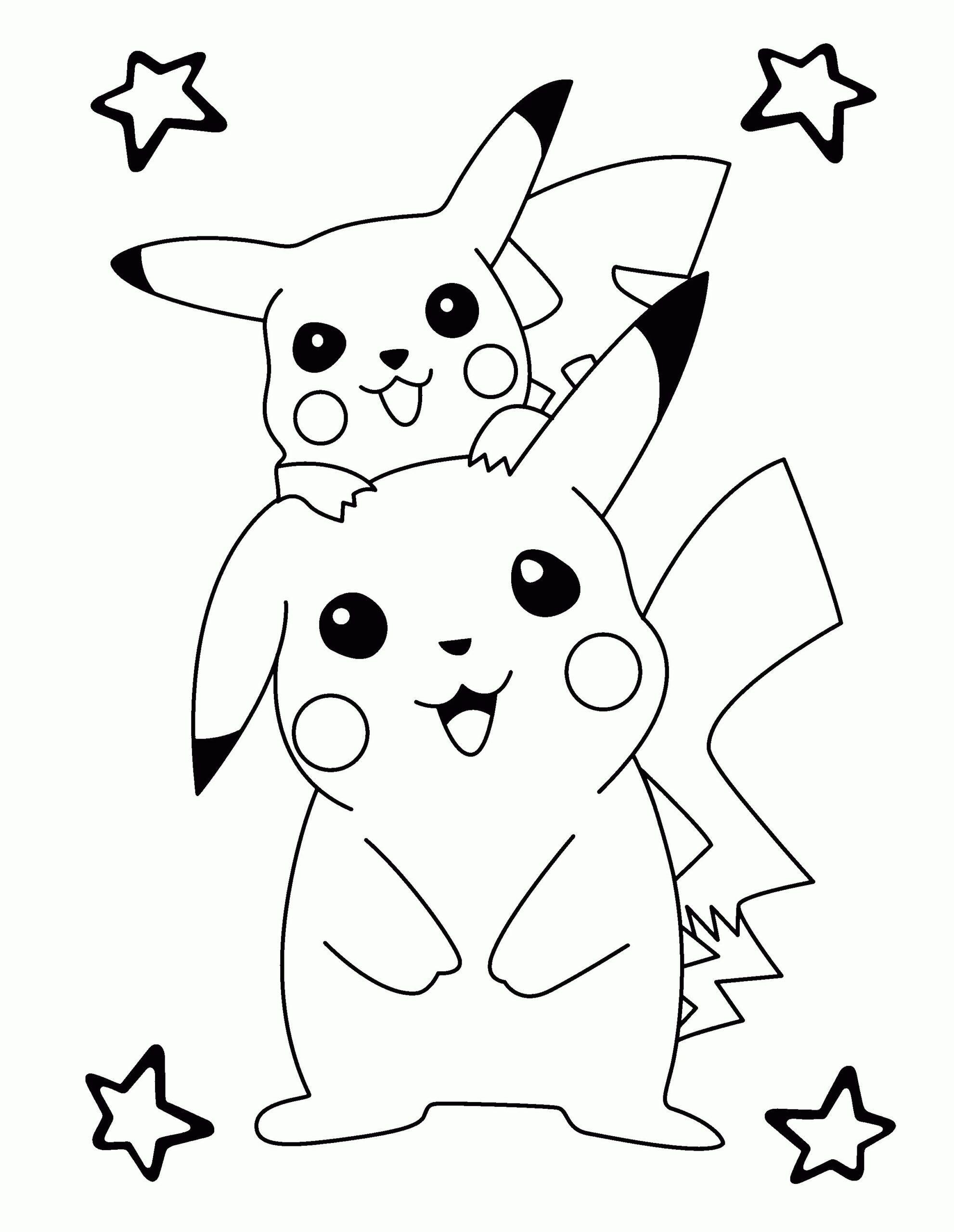 Ausmalbilder Pokemon Pikachu Und Friendun In 2020 Pokemon Coloring Pages Pokemon Coloring Monster Coloring Pages