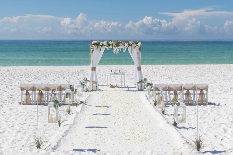 Destin Florida Beach Wedding Package Florida Beach Wedding Sunset Beach Weddings Wedding Venues Beach