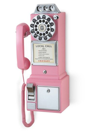 Crosley Radio 'Pay Phone' Wall Phone | Nordstrom #wallphone